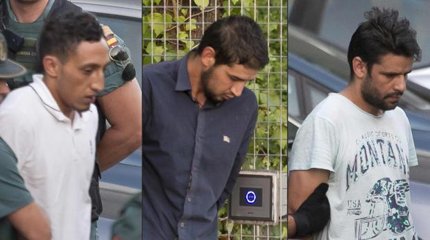 Tres de los terroristas detenidos