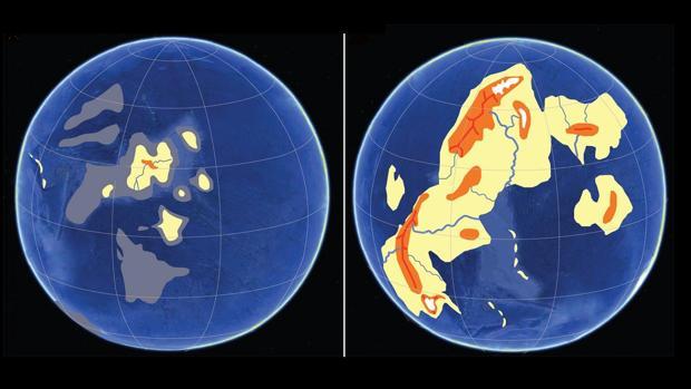 Posible transición del planeta hace 2.400 millones de años