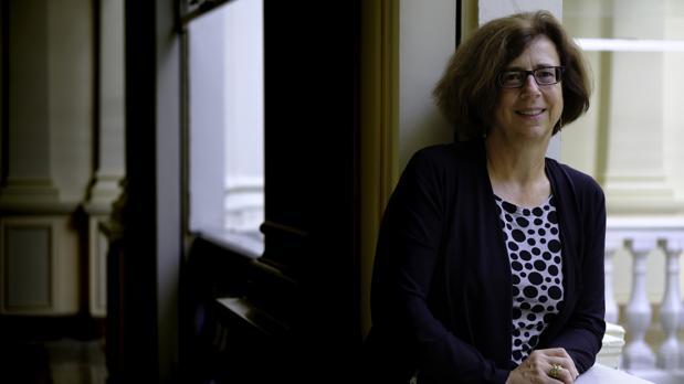 Ursula Keller, durante su visita a Madrid el pasado 10 de septiembre, por invitación de la Fundación BBVA