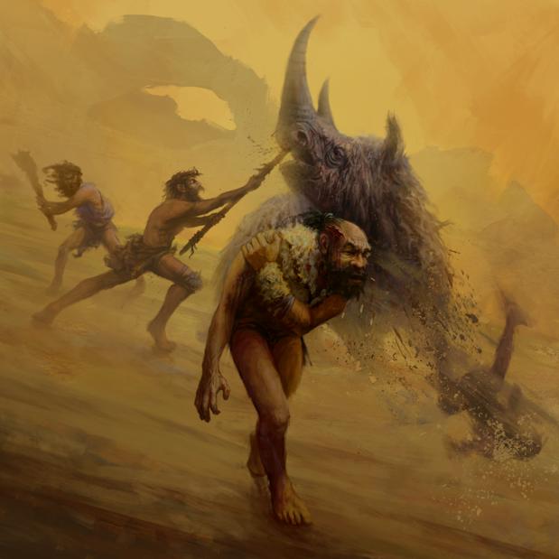 La técnica de caza de los neandertales les obligaba a acercarse peligrosamente a los grandes mamíferos durante la caza