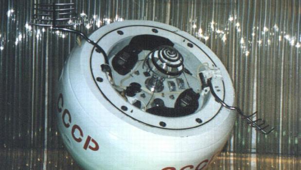 Módulo de aterrizaje de la sonda soviética Venera 8, gemelo al montado en la Cosmos 482