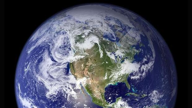 Imagen desde el espacio de la Tierra