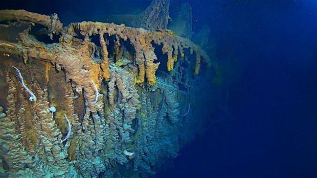La proa del Titanic está siendo devorada a pasos agigantados por toda una comunidad de microbios