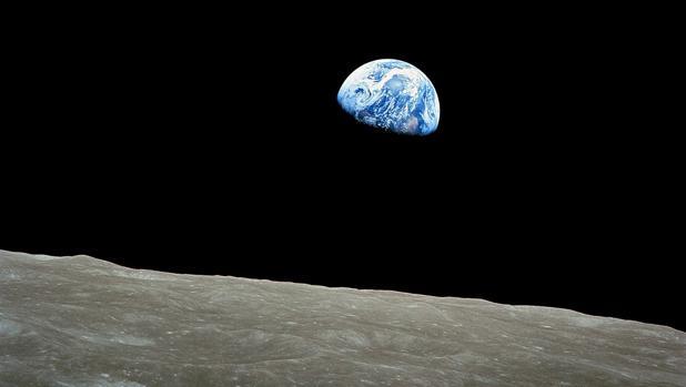 «Amanecer de la Tierra», tomada por Anders el 24 de diciembre de 1968