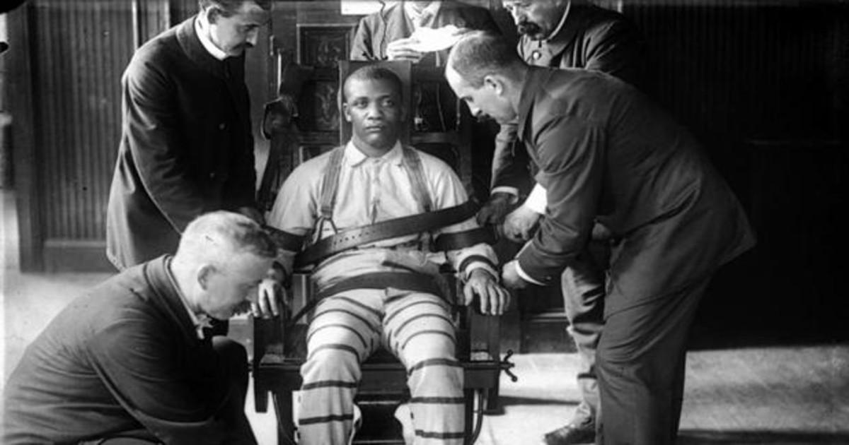 niño condenado a la silla electrica