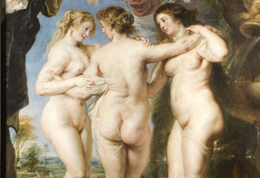 «Las Tres Gracias», de Pedro Pablo Rubens, muestran cómo cambia lo que la sociedad considera más atractivo físicamente