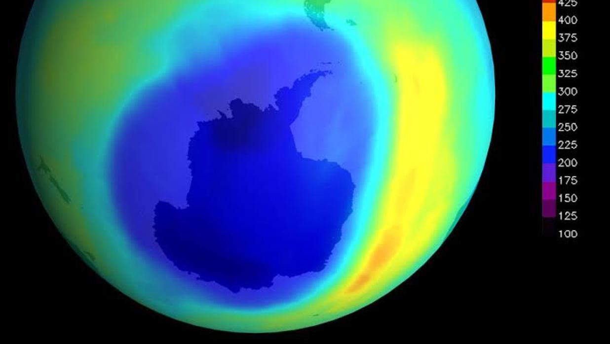 Un enorme agujero en la capa de ozono causó una extinción masiva ...