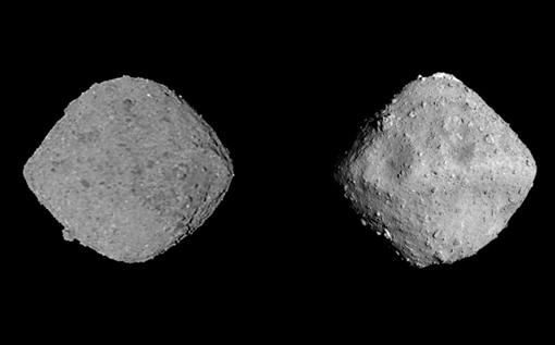 La imagen muestra el extraordinario parecido entre los asteroides Bennu, estudiado por la misión OSIRIS-REX de la NASA, y Ryugu, visitado por la sonda japonesa Hayabusa2