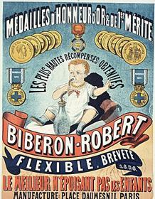 Biberón Robert, publicidad de 1882