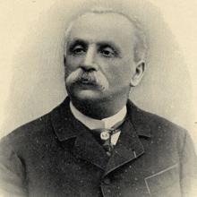 Hippolyte-Marie Bernheim, líder del grupo de la Universidad de Nancy, enfrentado en los círculos académicos a los postulados de Jean-Martin Charcot en materia de psicoterapia hipnótica. Cajal adoptó la postura de Bernheim en este conflicto