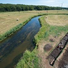 Los arqueólogos han trabajo en una sección a lo largo del río Tollense durante más de 10 años