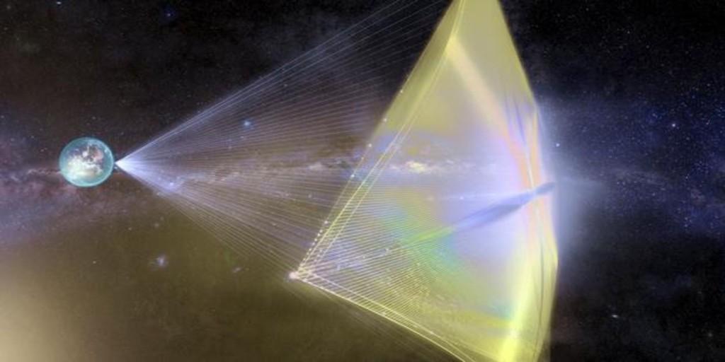 Primer diseño del propulsor que nos llevará a las estrellas