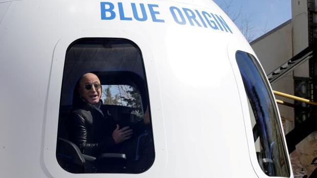 Jeff Bezos, a punto de llegar al espacio: dónde y cuándo ver el despegue de  la New Shepard