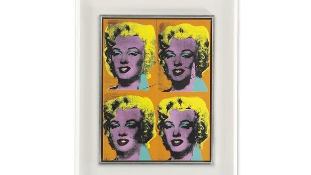 «Cuatro Marilyn», de Warhol