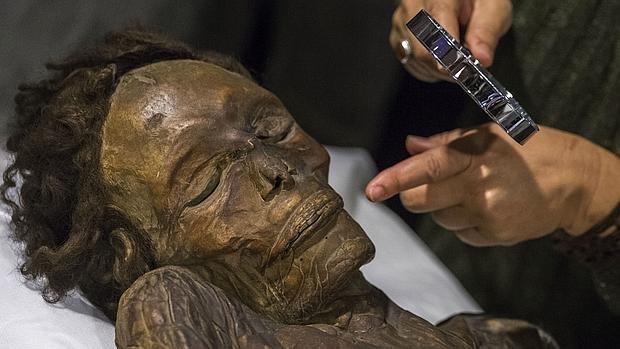 La momia del Barranco de Herques, hallada en 1776 en Tenerife, es la mejor conservada que existe