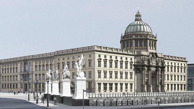 Reconstrucción virtual del Palacio Imperial de Berlín, hoy Foro Humboldt