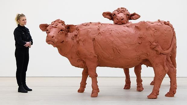 La obra «Two Cows», de Stephanie Quayle