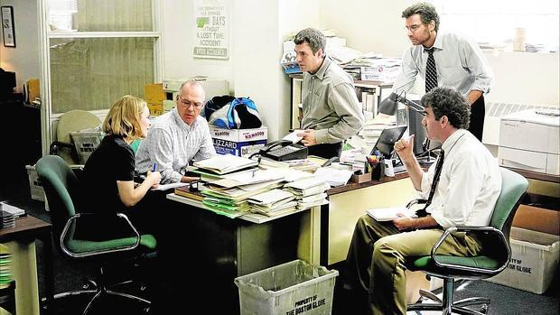 La película se centra en un grupo de periodistas de investigación del «Boston Globe»