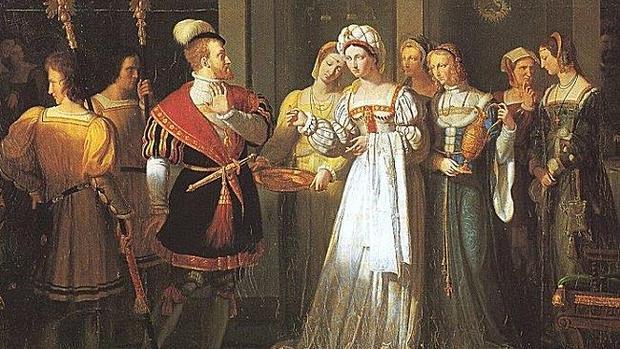 «El anillo de Carlos V», de Pierre Révoil