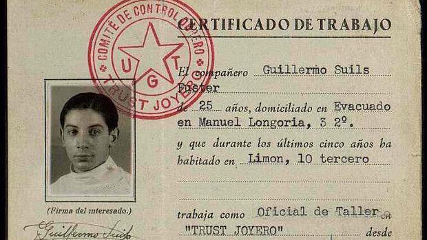 Documento que salió indebidamente del Archivo de Salamanca hacia Cataluña y que ha sido devuelto