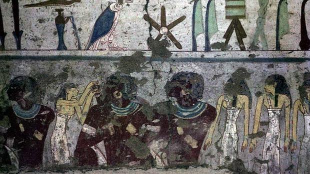 Una de las piezas devueltas a Egipto por el Museo del Louvre en 2009