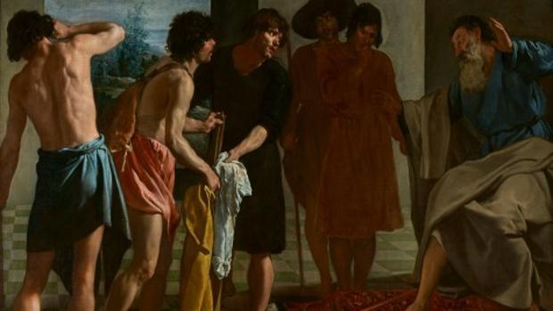 «La túnica de José» (1630-1634), de Velázquez, es una de las joyas de esta exposición