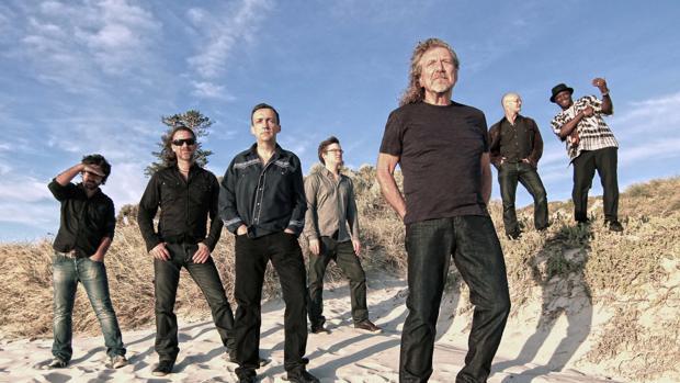 Robert Plant visita Barcelona con The Sentational Space Shifters
