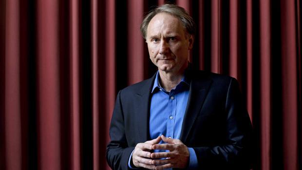 El escritor estadounidense Dan Brown