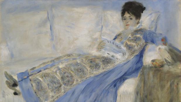 «Retrato de la mujer de Monet», de Renoir