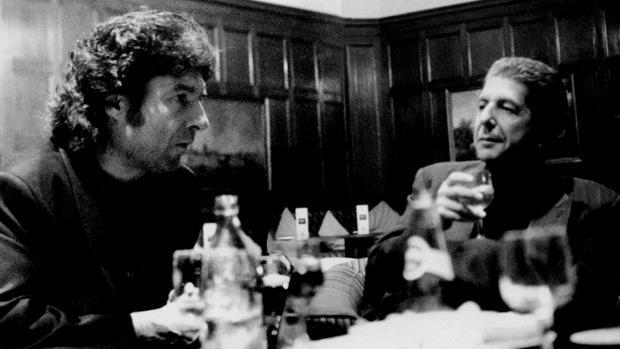 Enrique Morente y Leonard Cohen