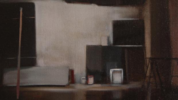 Una de las pinturas de la serie «El gran estudio», de Nacho Martín Silva