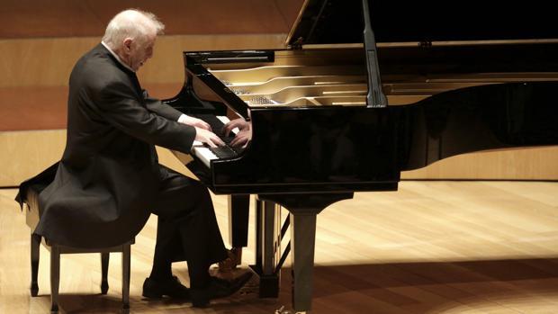 Daniel Barenboim, en un momento del recital