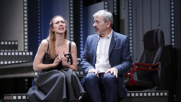 Marta Hazas y Carlos Sobera, en un momento de la función