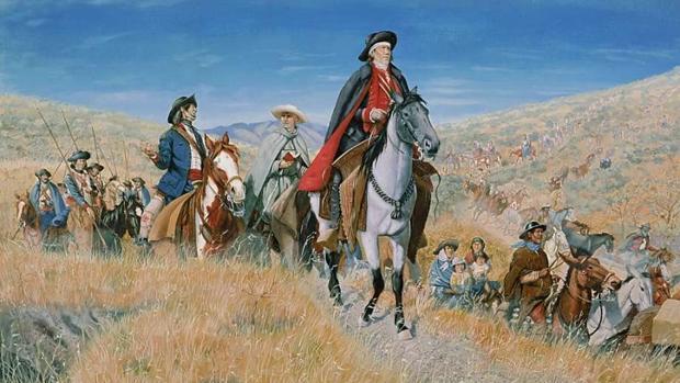 La Pax Anza, el triunfo de los españoles frente a navajos, comanches y  apaches