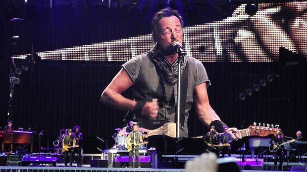 Bruce Springsteen en su último concierto en Madrid