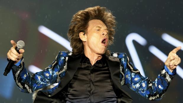 Mick Jagger, en un concierto reciente de los Rolling Stones