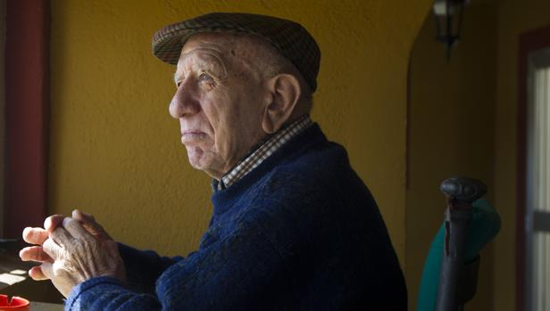 Victorino Martín Andrés, en su finca Las Tiesas de Santa María, en una imagen de 2015