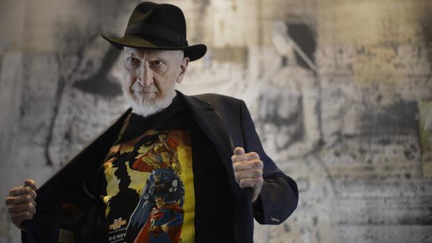 Frank Miller, durante su paso por la madrileña Heroes Comic Con