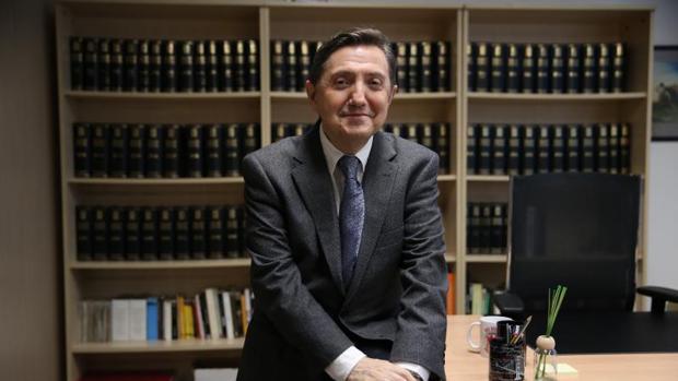 Jiménez Losantos, en su despacho de esRadio en Madrid