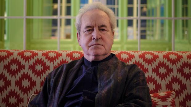 El escritor irlandés John Banville, fotografiado en un hotel de Madrid poco antes de la entrevista