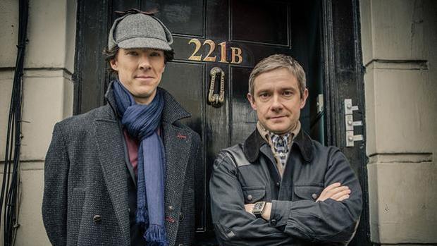 Fotograma de la serie británica «Sherlock»