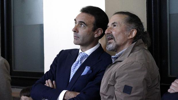 Enrique Ponce y José María Cano, este martes en Las Ventas