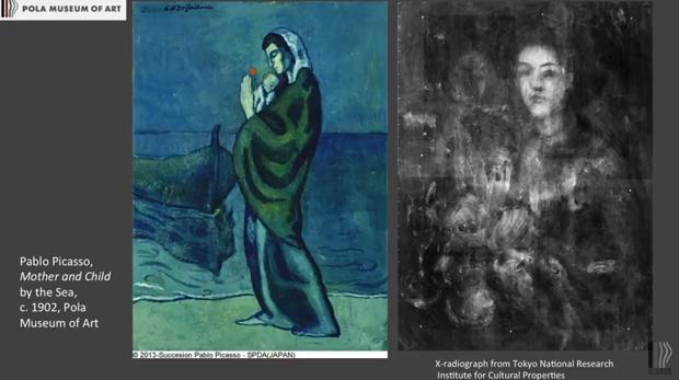 Secretos Ocultos Bajo El Azul De Picasso
