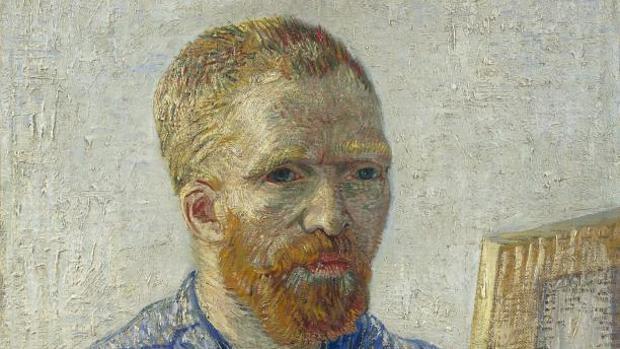 «Autorretrato» de Vincent van Gogh