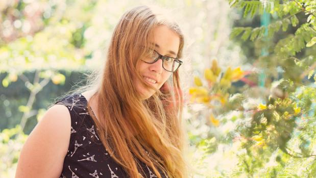 La escritora Natàlia Cerezo