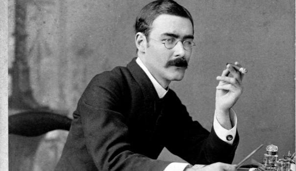 El escritor Ruyard Kipling