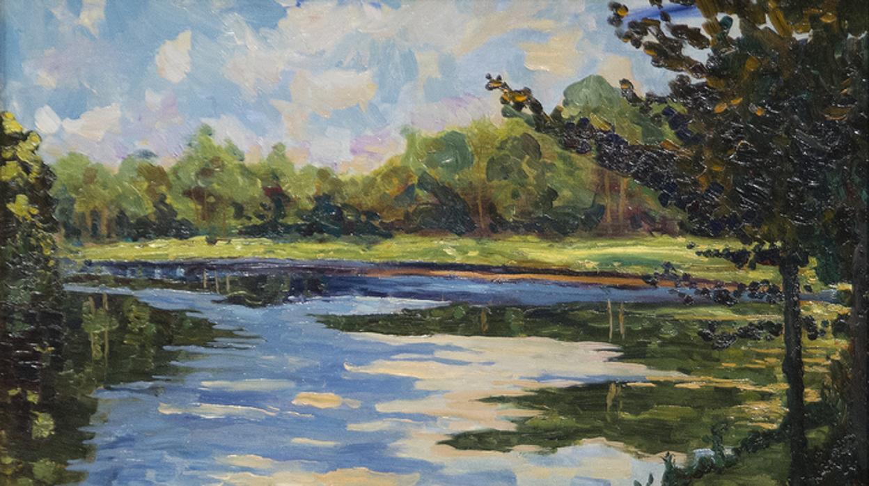 Estos cuadros pintados por Winston Churchill se venden por millones de  dólares