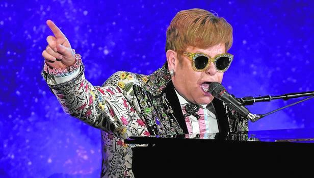 La maratoniana gira de despedida de Elton John ha comenzado en Allentown (Estados Unidos)