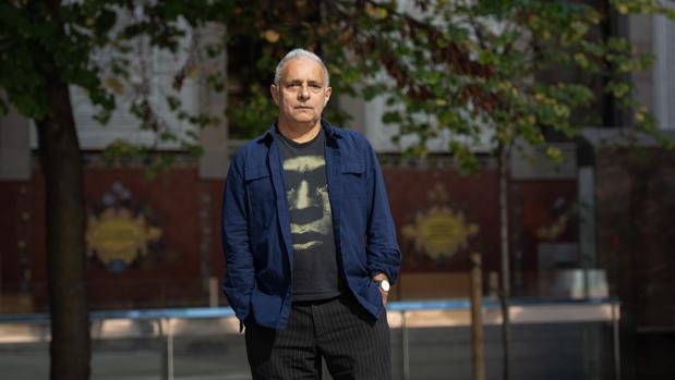 Hanif Kureishi, fotografiado ayer en Barcelona