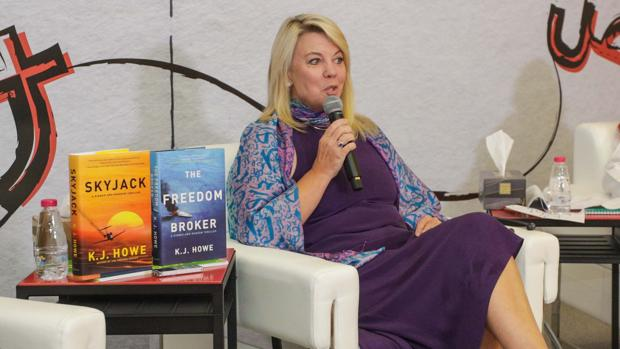 La escritora canadiense Kim Howe